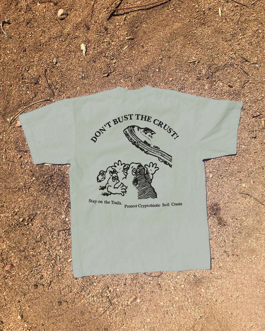 Don't Bust the Crust! Trails T-Shirt