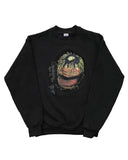 Tony's Library Crewneck Sweatshirt (Black)