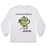 Lophophora williamsii (Variegated) Long Sleeve T-Shirt
