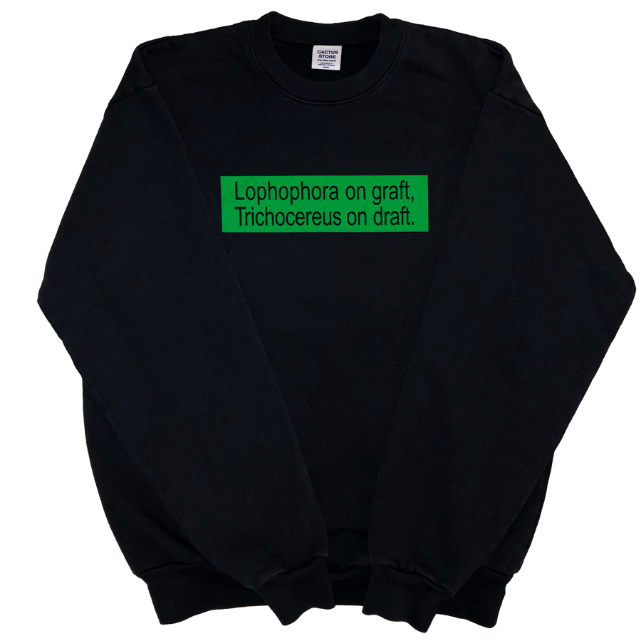 Bumper Crewneck (3,4,5-trimethoxyphenethylamine)