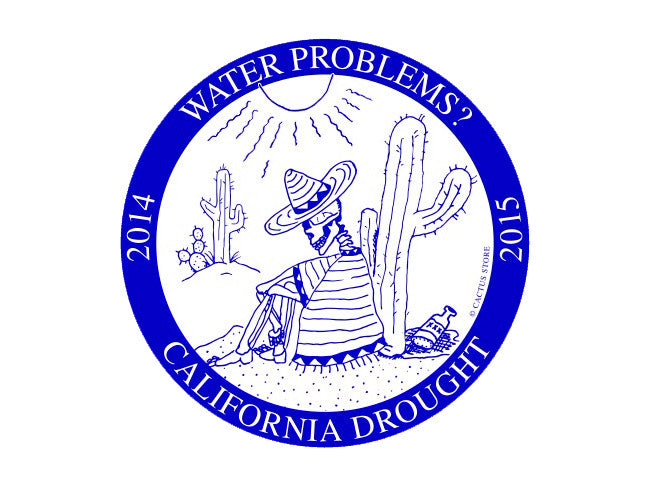 CALIFORNIA DROUGHT (SHORT SLEEVE T SHIRT)