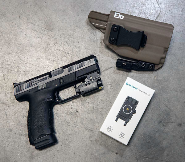 Olight Baldr Mini and FDO IWB Holster Package Deal