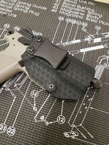 Forge Your Own Custom IWB Holster