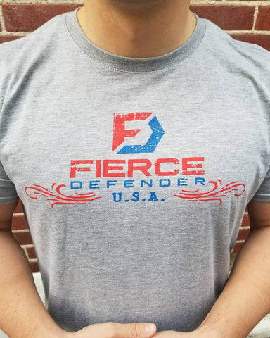 Fierce Defender 2A Flag T-Shirt