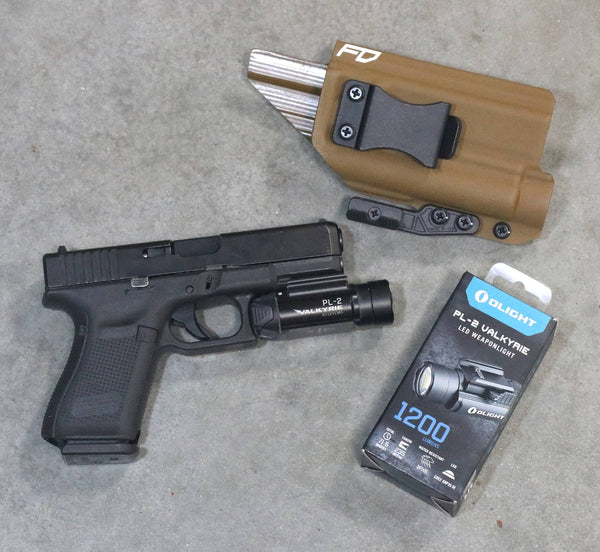 Olight PL-2 and FDO IWB Holster Package Deal
