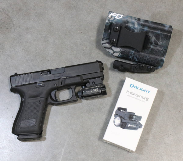 Olight PL-Mini 2 and FDO IWB Holster Package Deal