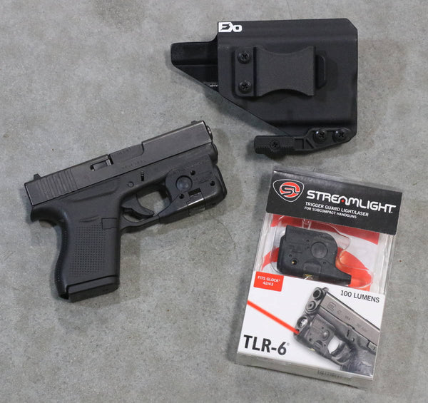 Streamlight TLR6 and FDO Holster Package Deal