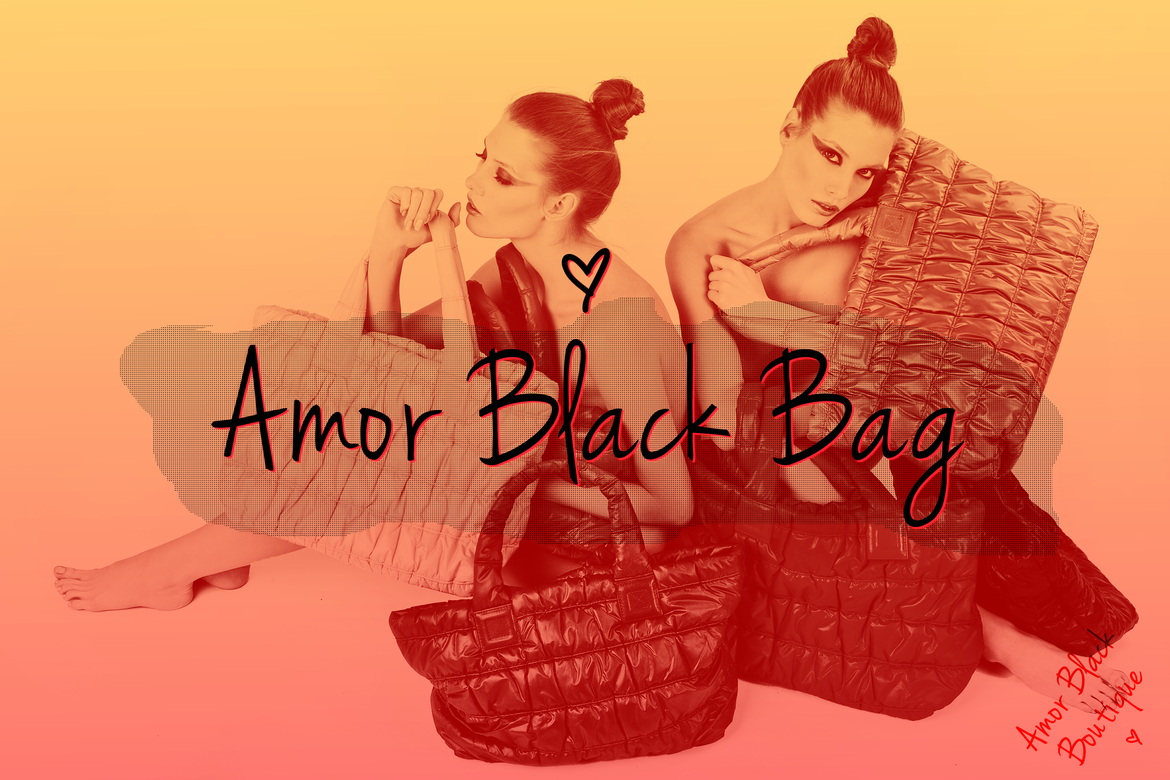 Introducing Amor Black Bags