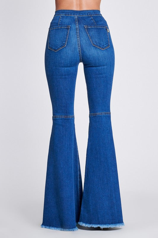 Sebrina Bell Bottom Jeans - Medium