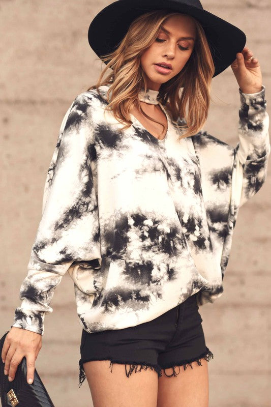 Load image into Gallery viewer, I Trust You Tie Dye Top - Multi - Amor Black Boutique