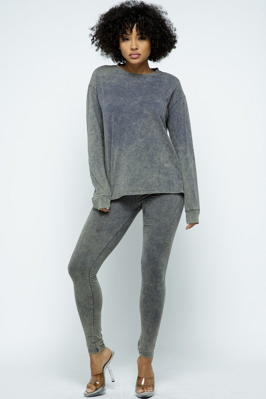 Forever Comfortable Set - Grey