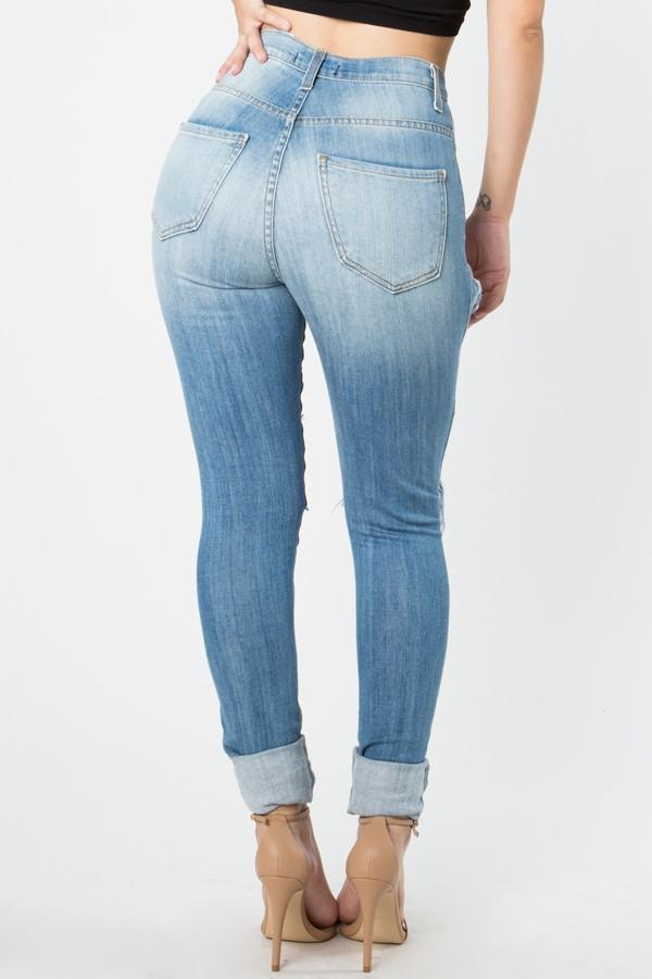 Walk It Out High Rise Skinny Jeans
