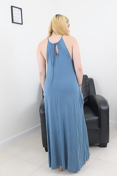 Jane Tie Back Maxi Dress - Maxi Dress