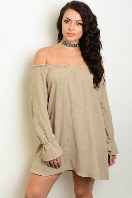 Katie Off the Shoulder Dress - Amor Black Boutique