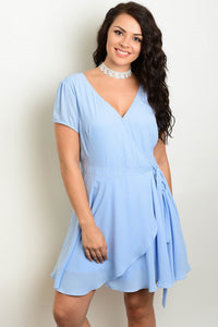 Laurel Side Tie Dress - Plus Dress