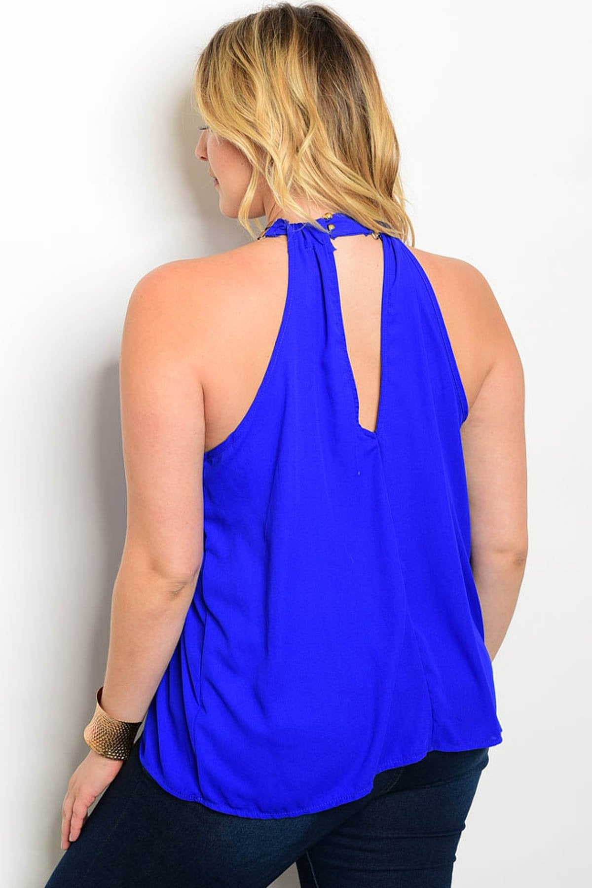 Diana Halter Blouse