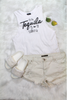 Tequila Talking Top - White