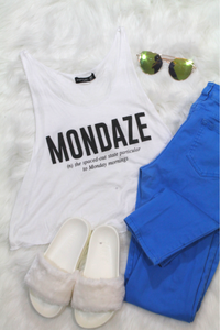 Mondaze Top - White - Amor Black Boutique