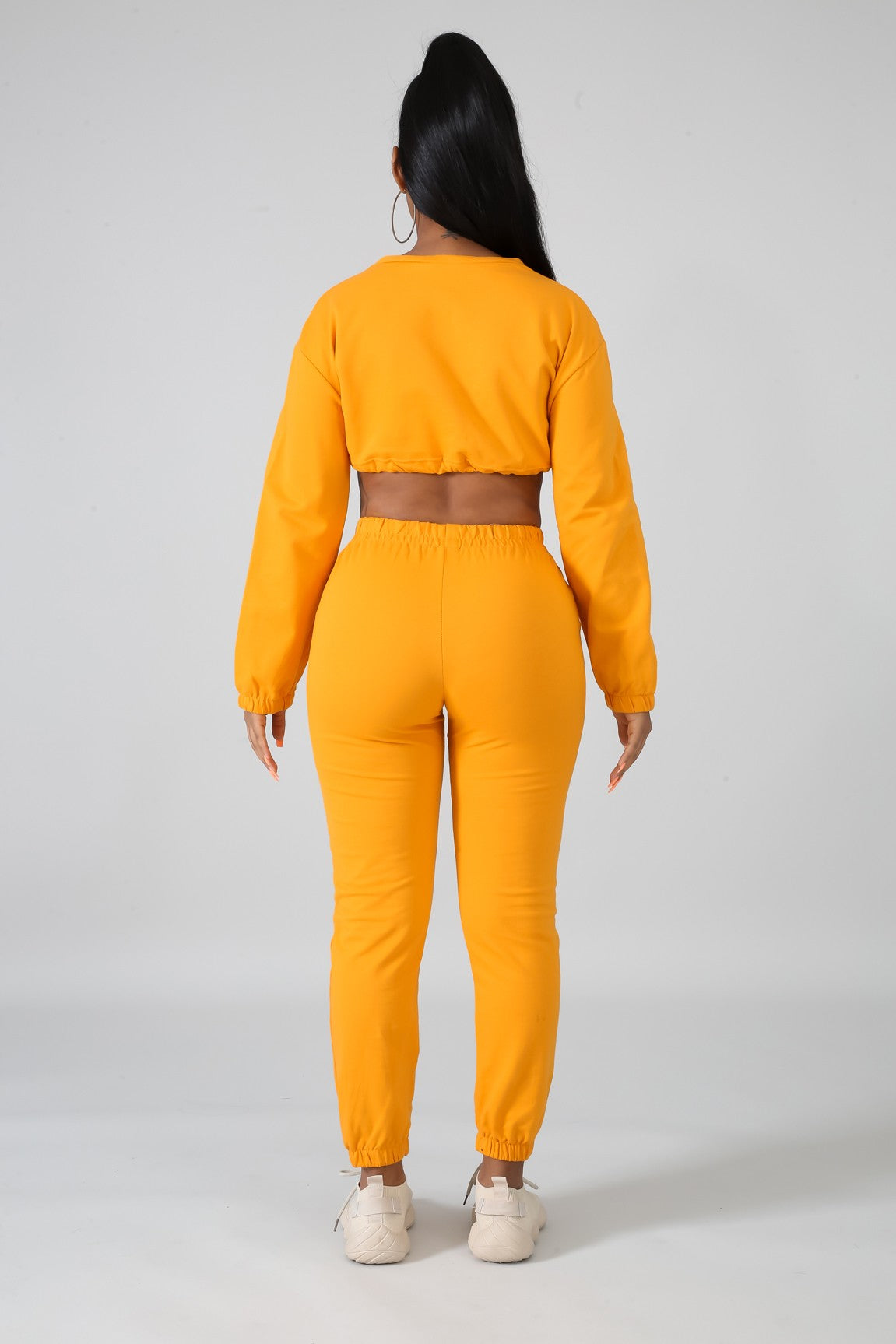 Load image into Gallery viewer, Not Givin Up Set - Mustard - Amor Black Boutique