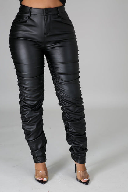 Back To The Streets Pants - Black - Amor Black Boutique