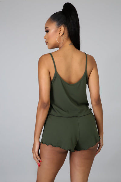 Back Home Set - Olive - Amor Black Boutique