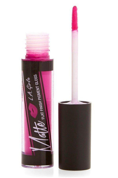 Kiss Me Long Time Matte Lip Gloss - Amor Black Boutique