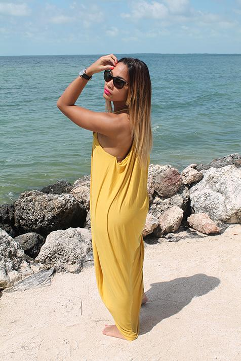 Load image into Gallery viewer, Jenna Maxi Dress - Mustard - Amor Black Boutique