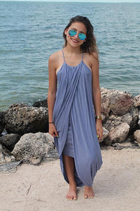 Jenna Maxi Dress - Chambray Blue - Maxi Dress