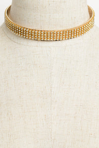 The Winning Choker - Gold - Choker