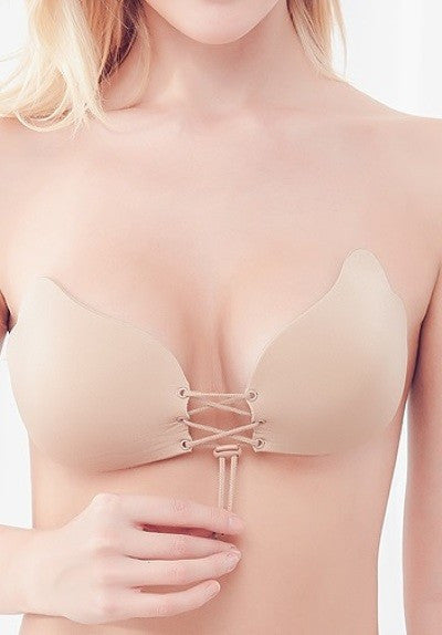 Load image into Gallery viewer, Push Up Amor Bra - Nude - Amor Black Boutique