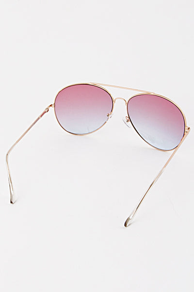 Miss Me Much Sunglasses - Pink