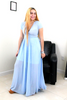Celine Maxi Dress - Baby Blue