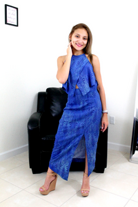 Dana Denim Maxi Dress - Maxi Dress