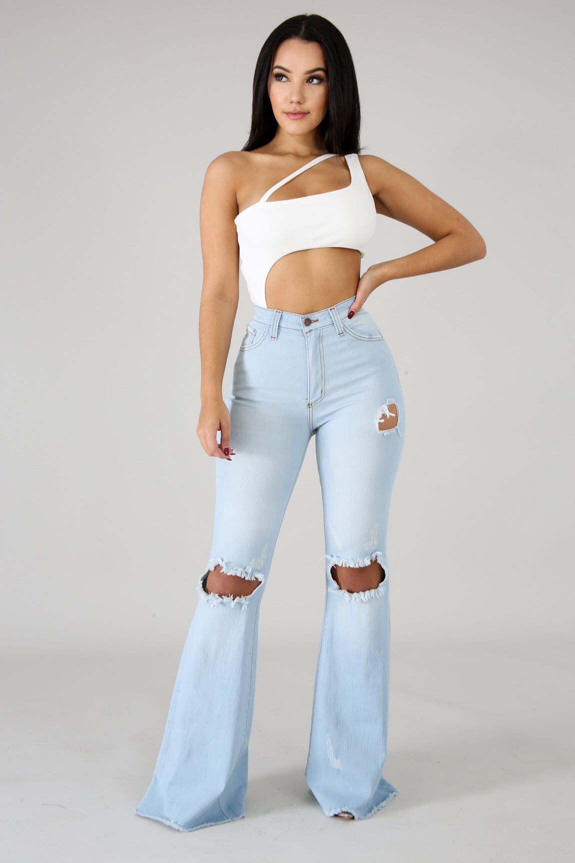 Prfect Fit Bell Bottom Jeans