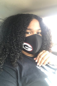 Custom Face Mask - Black - Amor Black Boutique