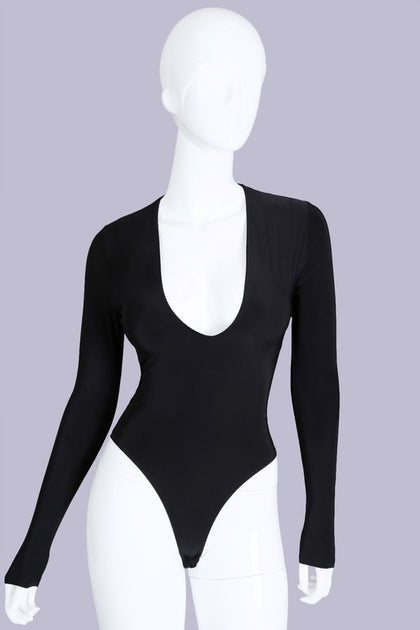Laura Bodysuit - Black - Amor Black Boutique
