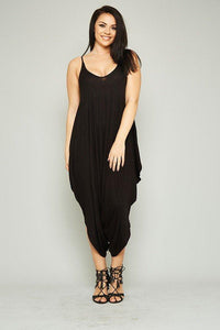 Caribbean Goddess Jumper - Black - Plus Jumper