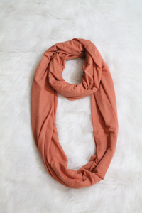 Amaya Scarf - Rust - Amor Black Boutique