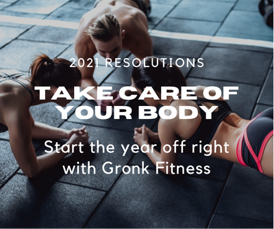 New Year's Resolutions with Gronk Fitness