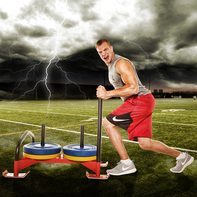 Become Strong Like A Gronk With The Power Sled!
