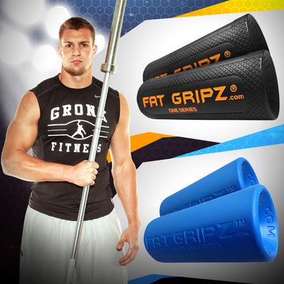 Build Your Grip Strength & Arm Size With Fat Gripz | (Works Almost INSTANTLY!)