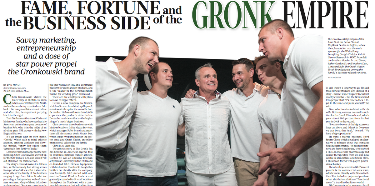 Fame Fortune And The Business Side Of The Gronk Empire