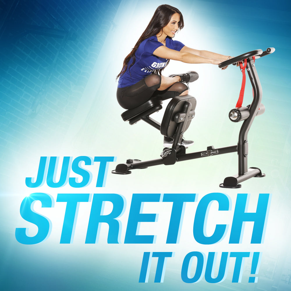 Stretch Out Your Entire Body With The Gronk Fitness Stretch Machine