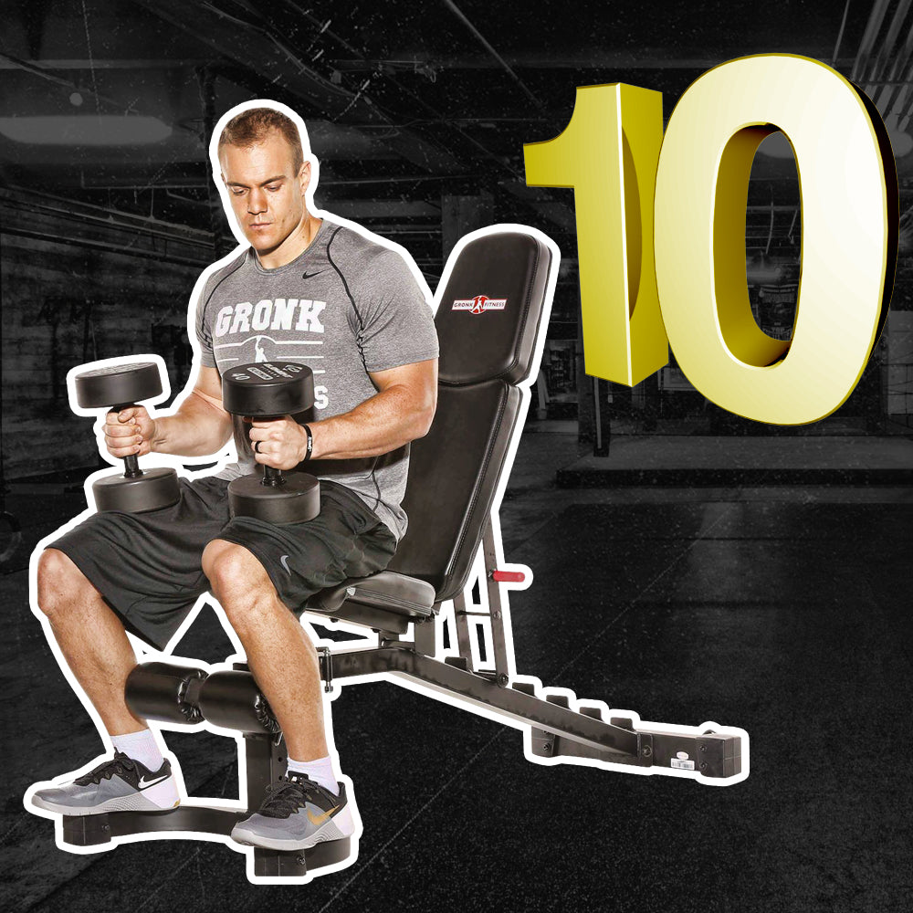 Top 10 Exercises You Can Do With Just A Bench (Home Or Gym)