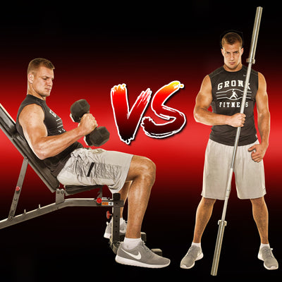 Barbells Vs Dumbbells | Which Is Better For Strength & Muscle Growth?
