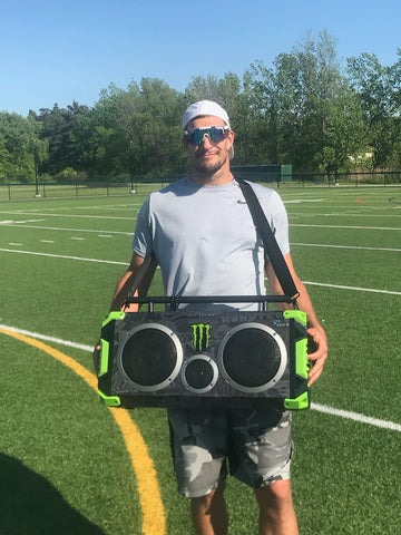 Gronk Fitness Presents Bumpboxx Bluetooth Speakers now available on Amazon