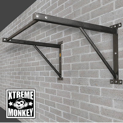Xtreme Monkey - Wall Mounted Chin Up Bar - Straight Pull Up Bar