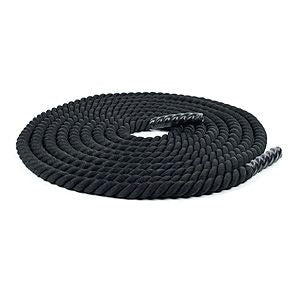 "Battle Rope : Gym Rope 50' : 1.5"" thick"