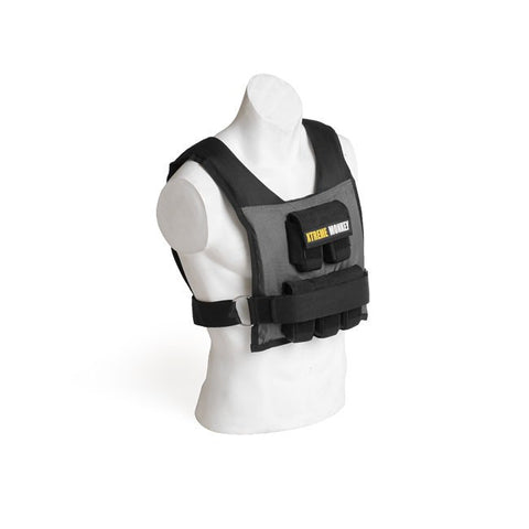 Xtreme Monkey 35lbs Commercial Micro Adjustable Weighted Vest Black