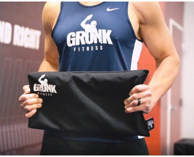 Gronk Fitness Hip Thrust Pad for Barbell | Thick Foam for Extra Comfort